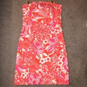 Lilly Pulitzer Strapless Mini Dress NWT